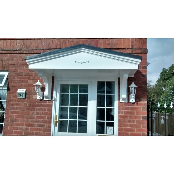 Pacific M GRP Overdoor Entrance Canopy