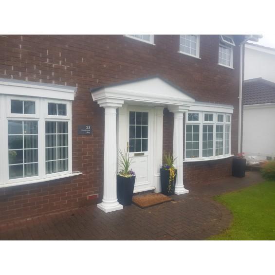 Elegance GRP Complete Door Porch Canopy Entrance Kit