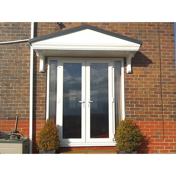 Pacific L GRP Over door Porch Canopy
