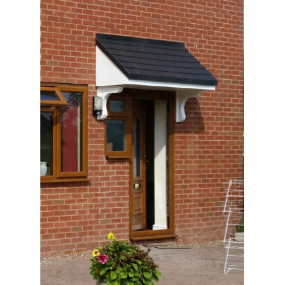 Palermo 2000+ Series Window / Overdoor Canopy - Made to Measure up to 3000mm