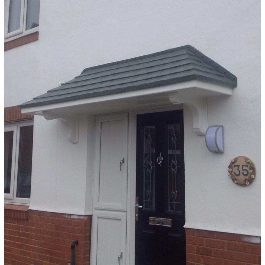 grp door canopies amazon 2700 grp door canopy. Black Bedroom Furniture Sets. Home Design Ideas