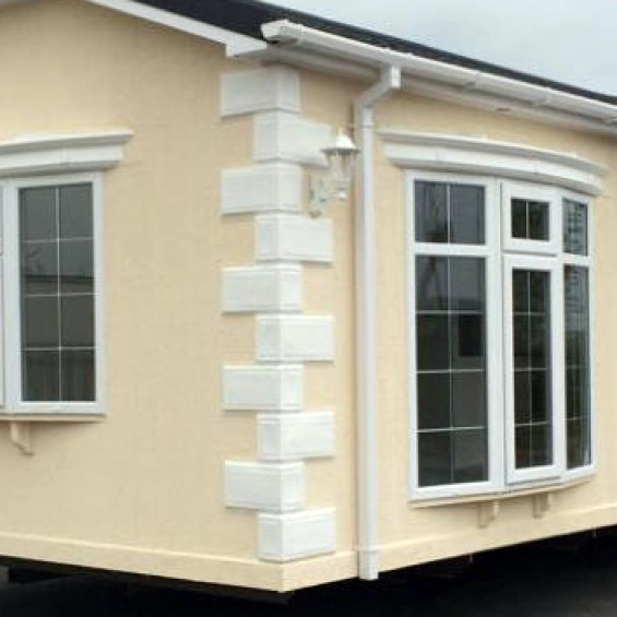 10ft Bay Window Canopy for Park Home