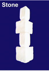 9ft Stone Brick Effect Corner Texture Faux Quoins For Park Home