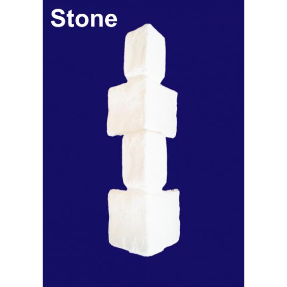 9ft Stone / Brick Effect Corner Texture / Faux Quoins for Park Home