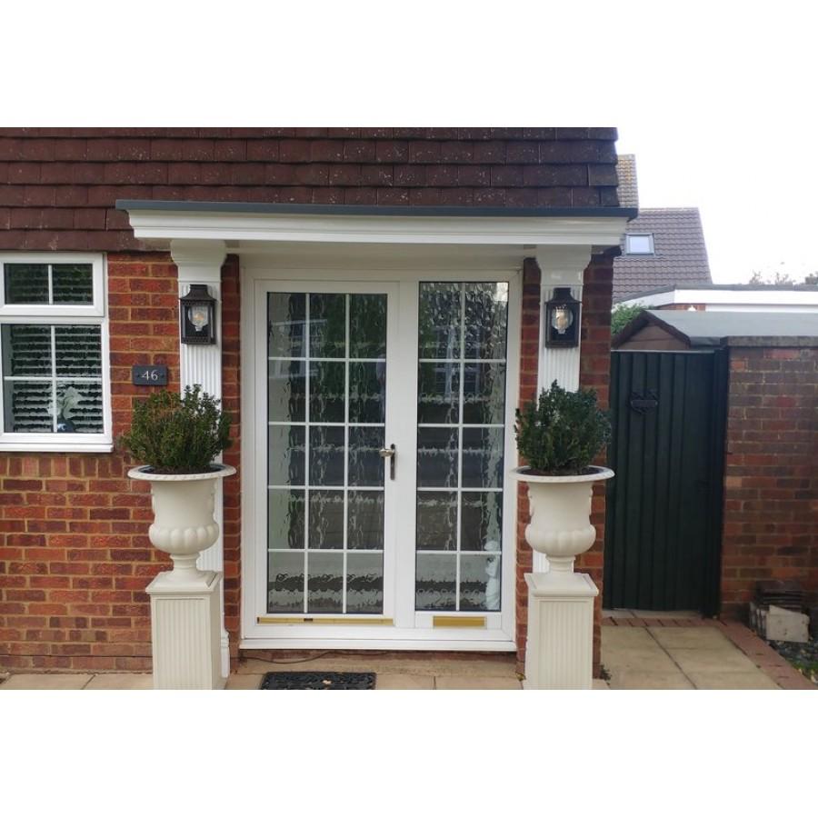 sc 1 st  Midlands GRP Ltd & Delta 1200+ Series Window / Overdoor Canopy - Made to Measure